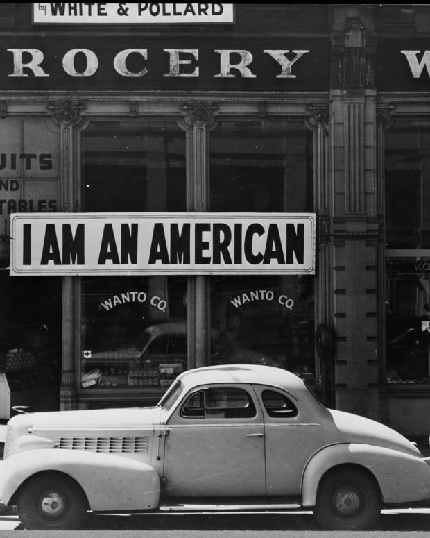 Japanese Internment Era Photo