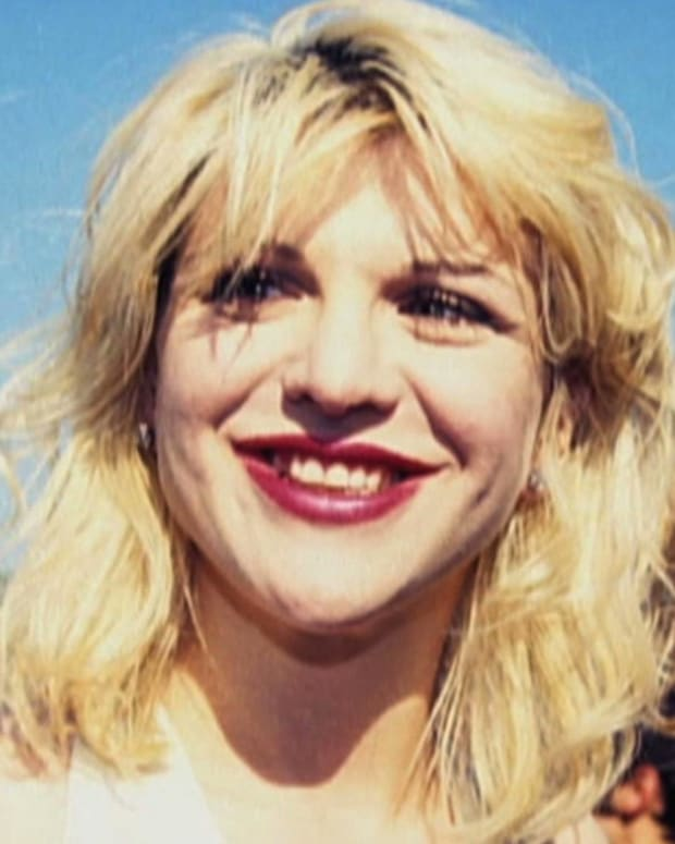 Courtney Love - Married to Kurt Cobain