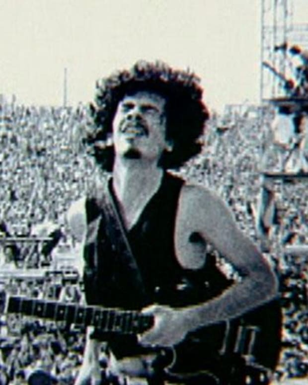 Carlos Santana - At Woodstock