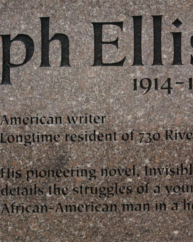 "Ralph Ellison - ""Invisible Man"" Memorial"