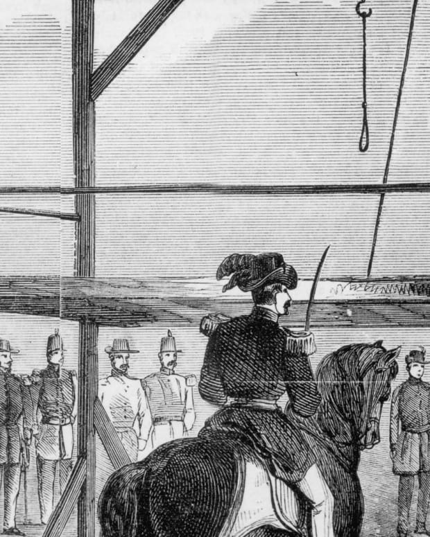 John Wilkes Booth - Execution of John Brown