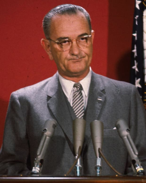 Lyndon B. Johnson - Before the War on Poverty