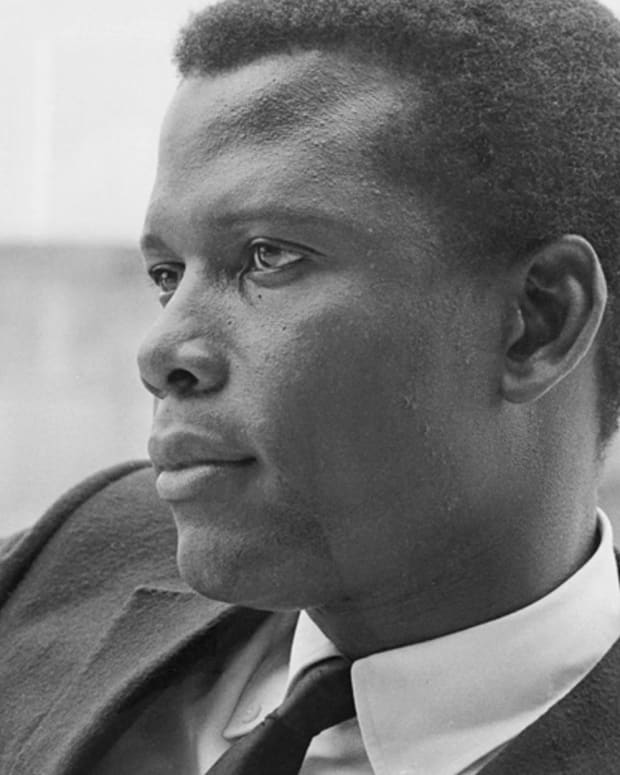 Sidney Poitier Young Photo
