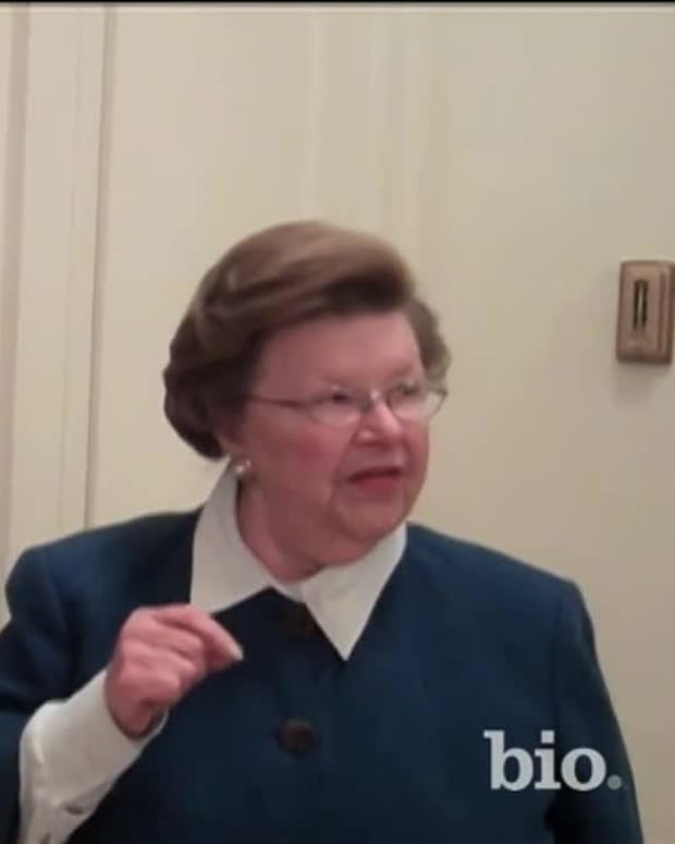 BIO on the Spot: Senator Barbara Mikulski - Interview