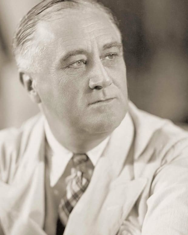 Franklin D. Roosevelt – The War Draws to a Close
