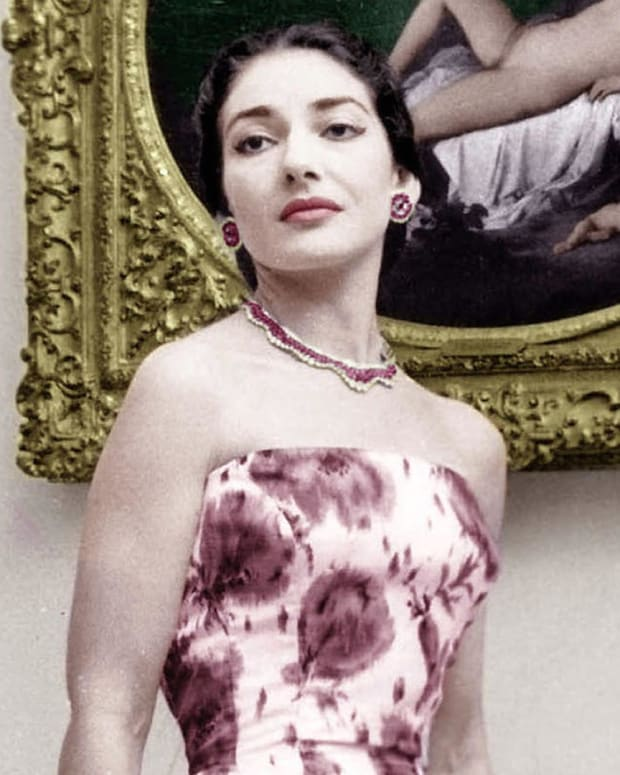 Maria Callas - Breaking Into Opera