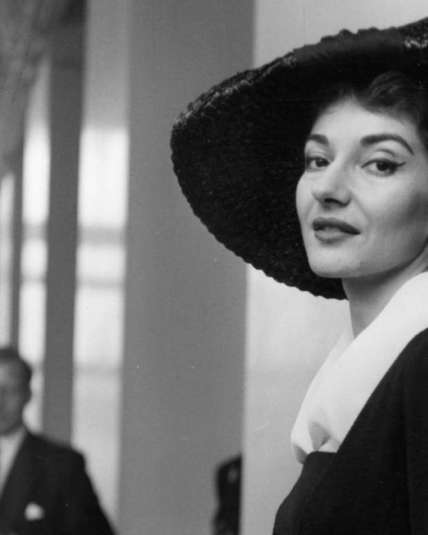 Maria Callas - Brief Return to Opera