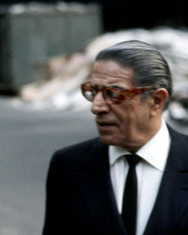Jackie Kennedy Aristotle Onassis Photo