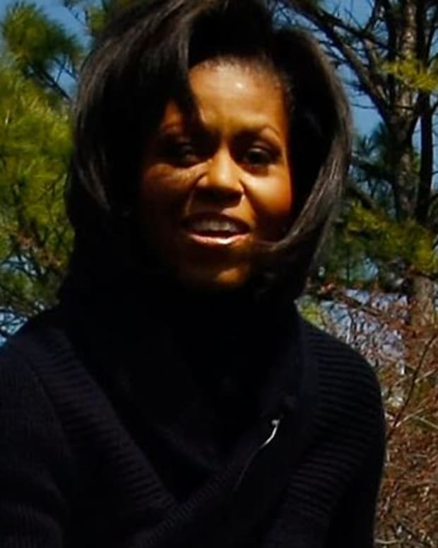 Michelle Obama - The White House Vegetable Garden