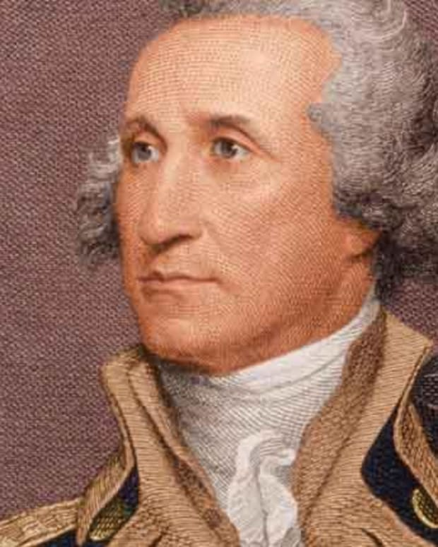 George Washington - Natural Born Soldier