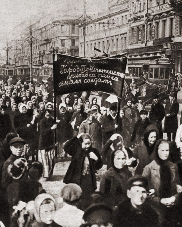 Russian Revolution March 8, 1917