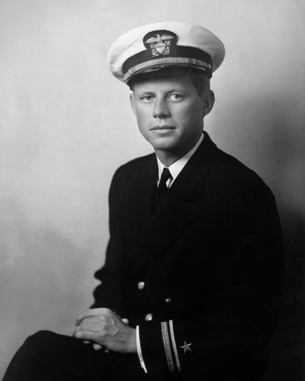 Young John F. Kennedy 1940 U.S. Navy Photo