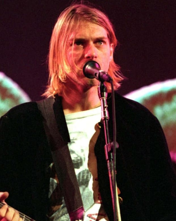 Kurt Cobain on MTV in 1993