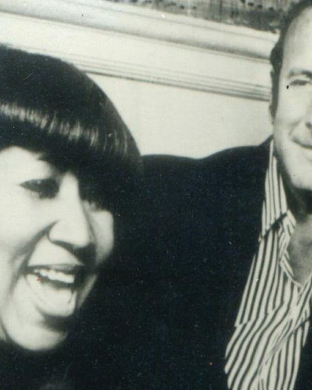 Aretha Franklin and Clive Davis