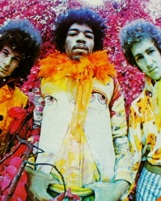 Jimi Hendrix 'Are You Experienced' Album Cover