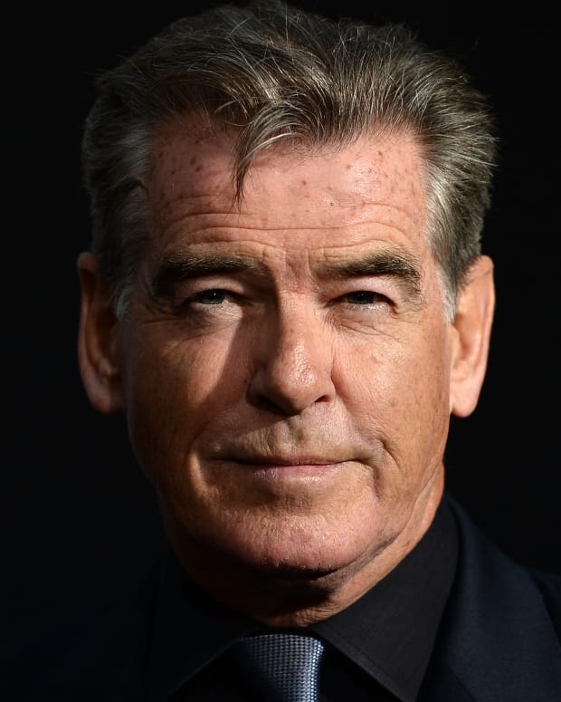 Pierce Brosnan in 2017