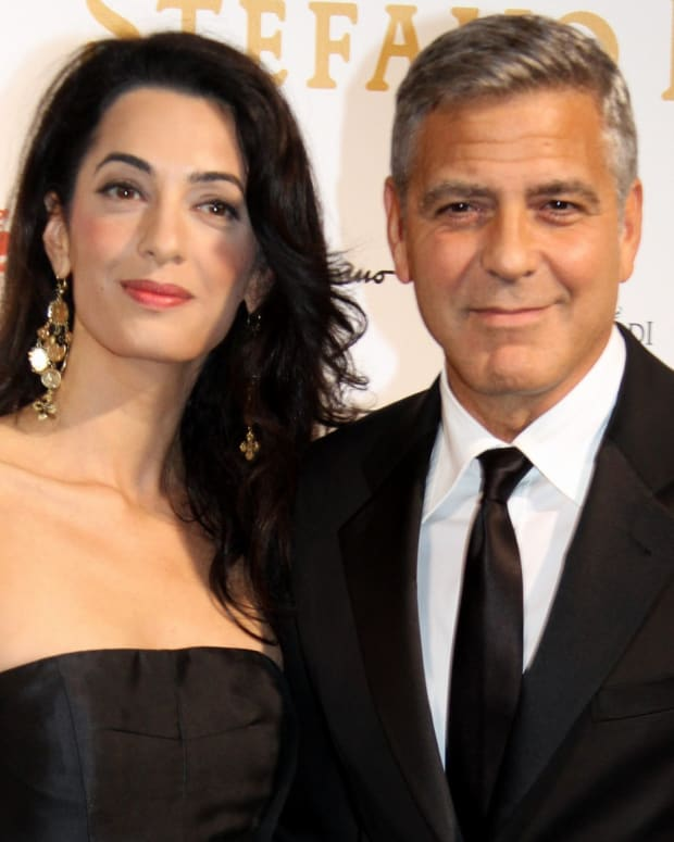 Amal and George Clooney in 2014
