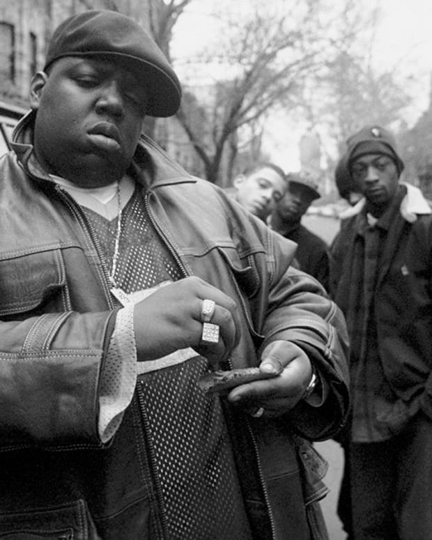 Biggie Smalls in 1995