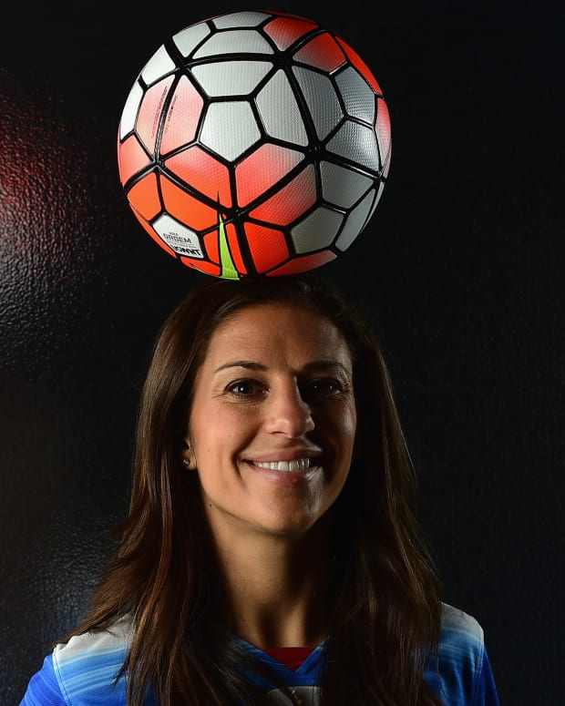 Carli Lloyd photo via Getty Images