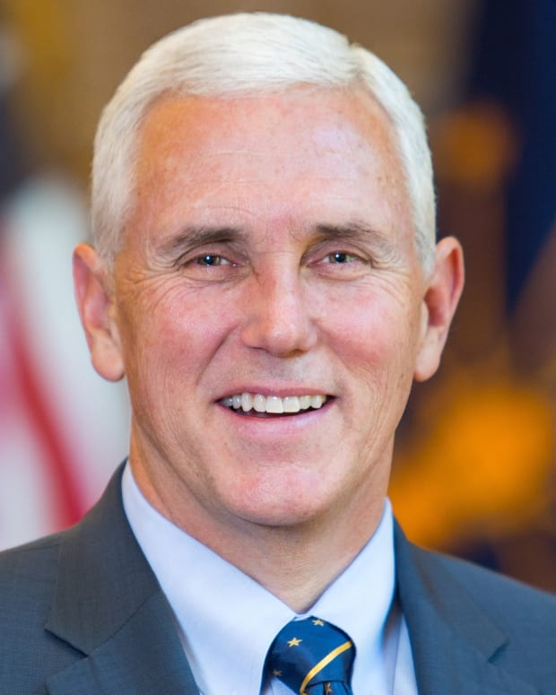 Mike Pence official photo via State of Indiana