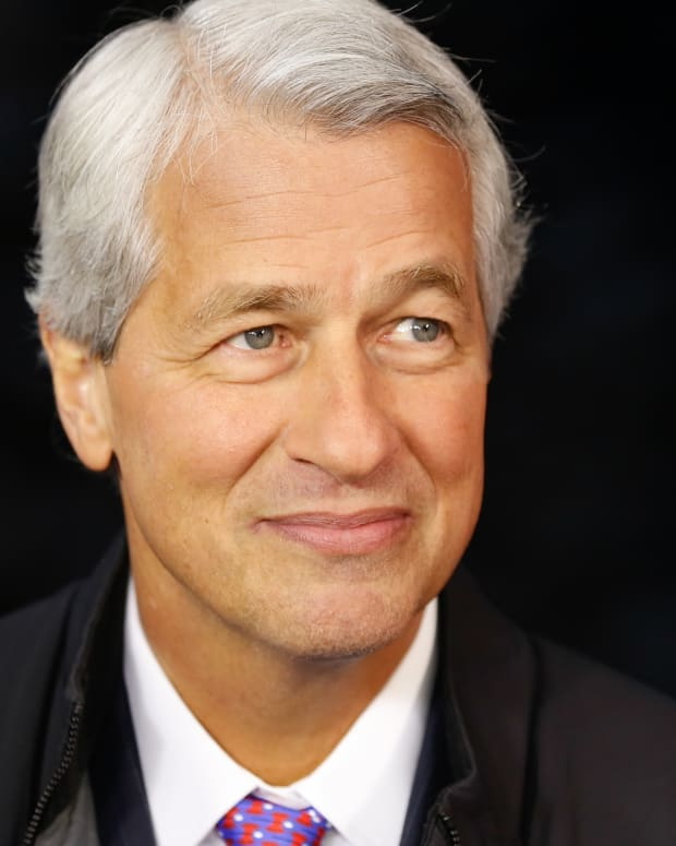 Jamie Dimon photo via Getty Images