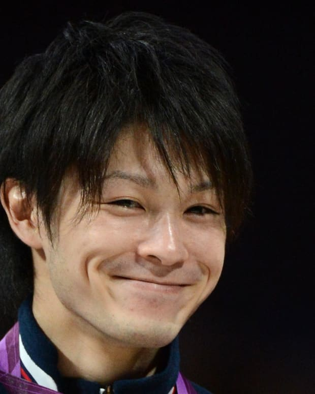 Kohei Uchimura photo via Getty Images