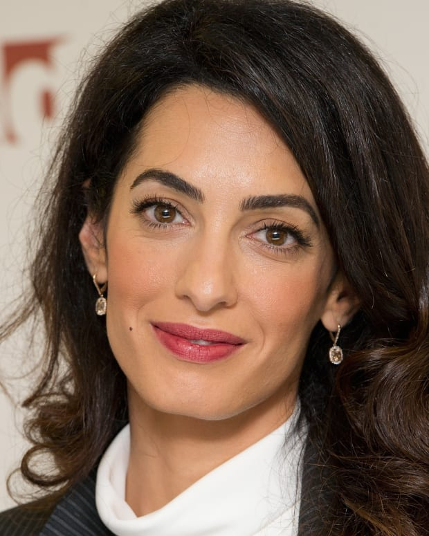 Amal Alamuddin Clooney photo via Getty Images