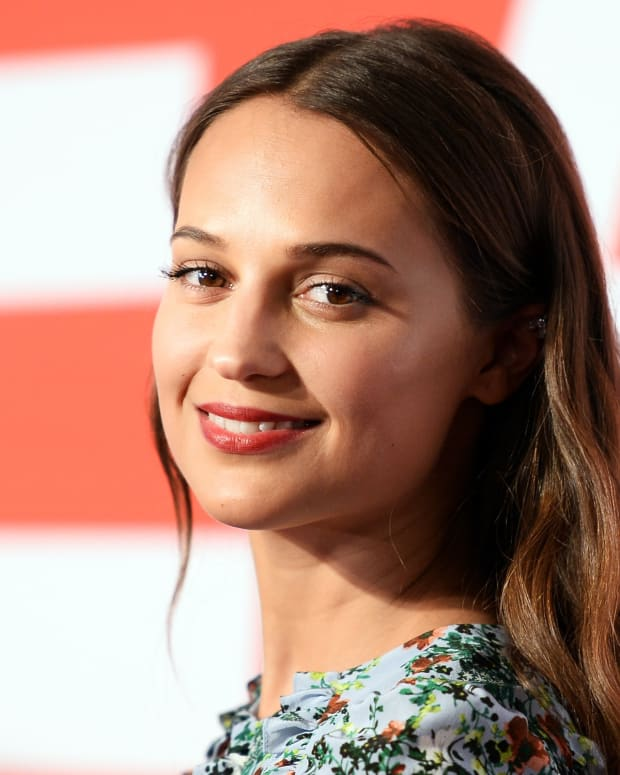 Alicia Vikander photo via Getty Images