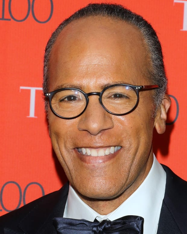 Lester Holt photo via Getty Images