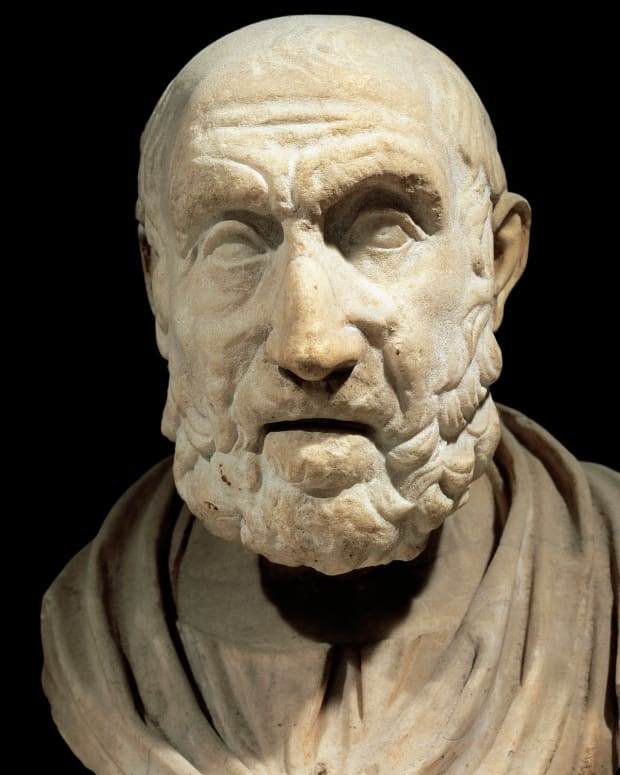 Hippocrates photo, via Getty Images
