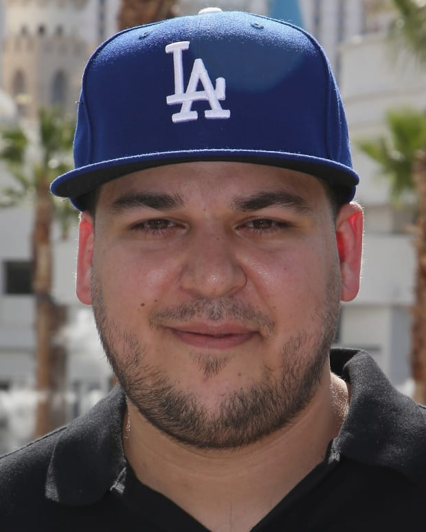 Rob Kardashian photo via Getty Images