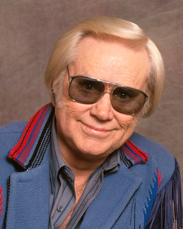 George Jones photo via Getty Images