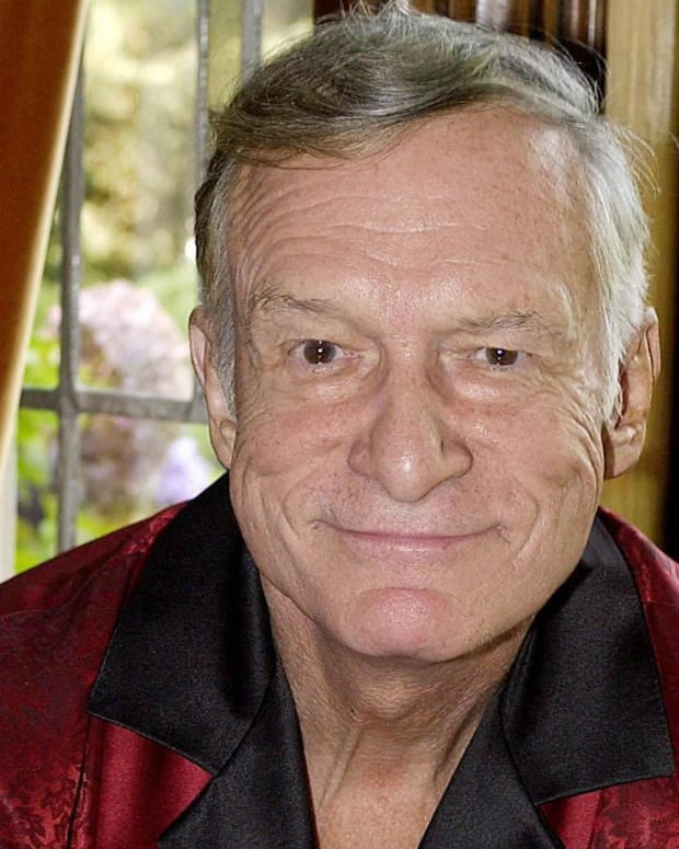 Hugh Hefner in 2003 Photo By Rich Schmitt/AFP/Getty Images