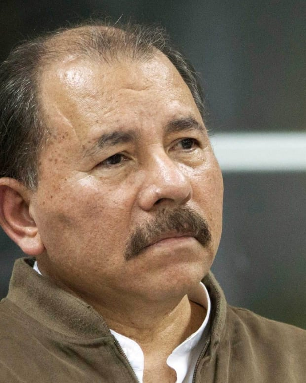Daniel Ortega photo via Wikicommons