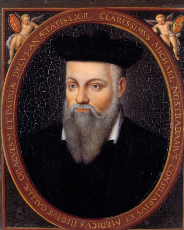 Nostradamus Portrait Photo