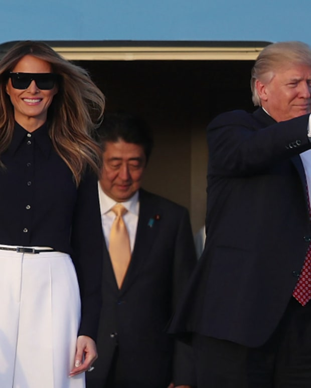 Melania Trump, 45th First Lady of the United States