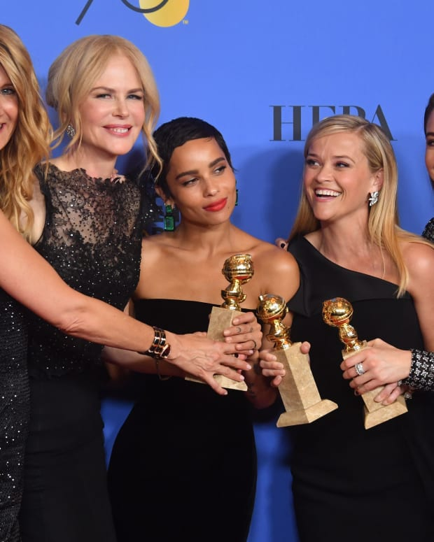 'Big Little Lies' Cast Golden Globes 2018 Photo