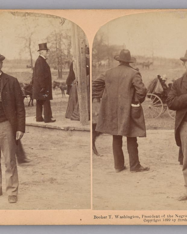 Booker T. Washington Stereograph