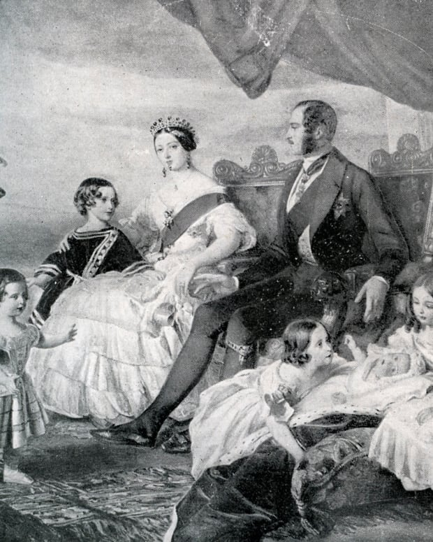 Queen Victoria, Prince Albert and their family