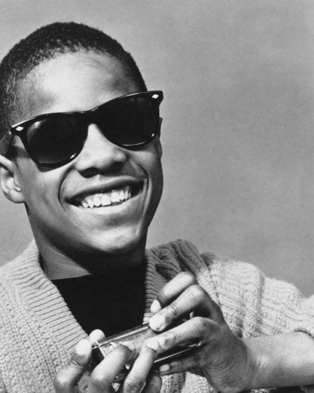 Stevie Wonder at age 14.