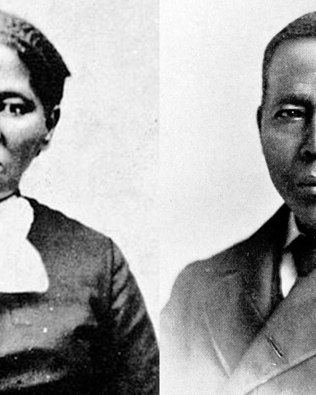 Harriet Tubman and William Still