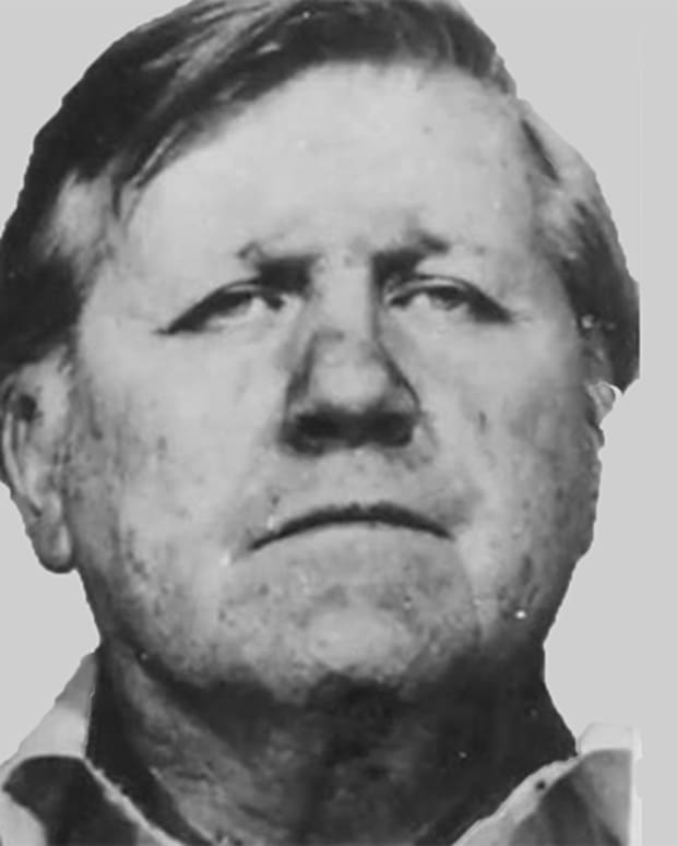 Frank Sheeran mug shot
