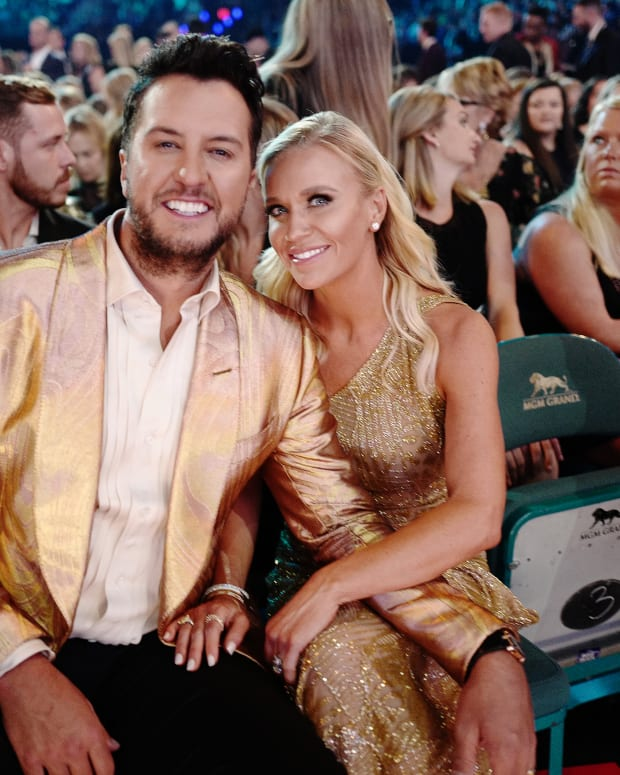 Luke Bryan and his wife Caroline