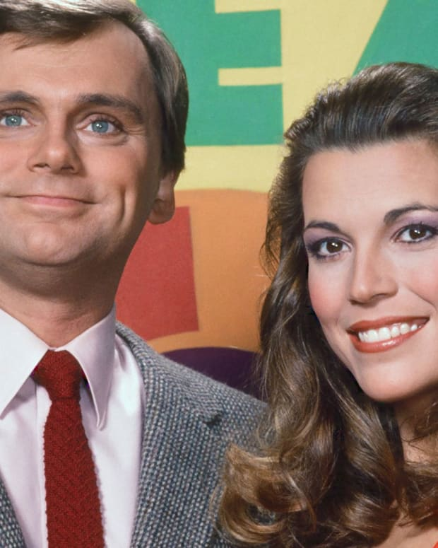 Pat Sajak and Vanna White