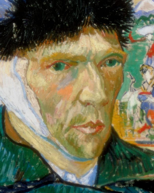 Van Gogh-Ear Self Portrait-promo-GettyImages-463919091