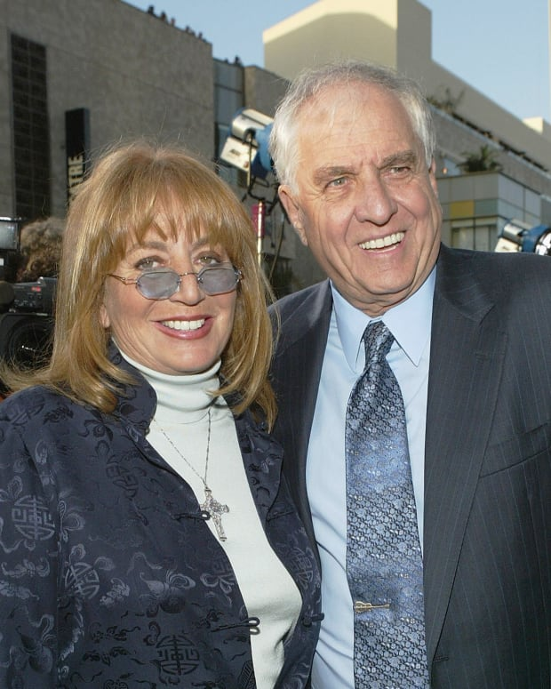 Penny Marshall and Garry Marshall