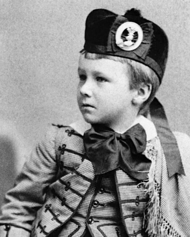 Franklin D. Roosevelt at age 5