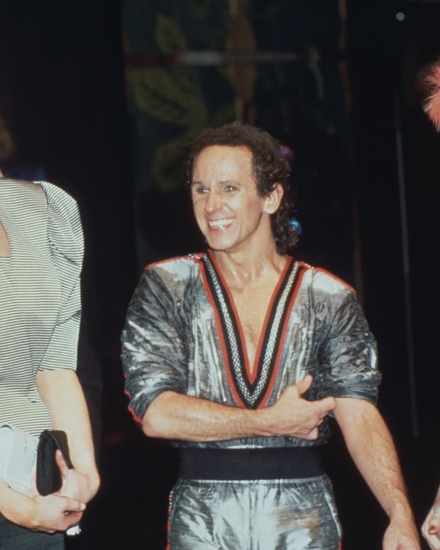Princess Diana and Wayne Sleep