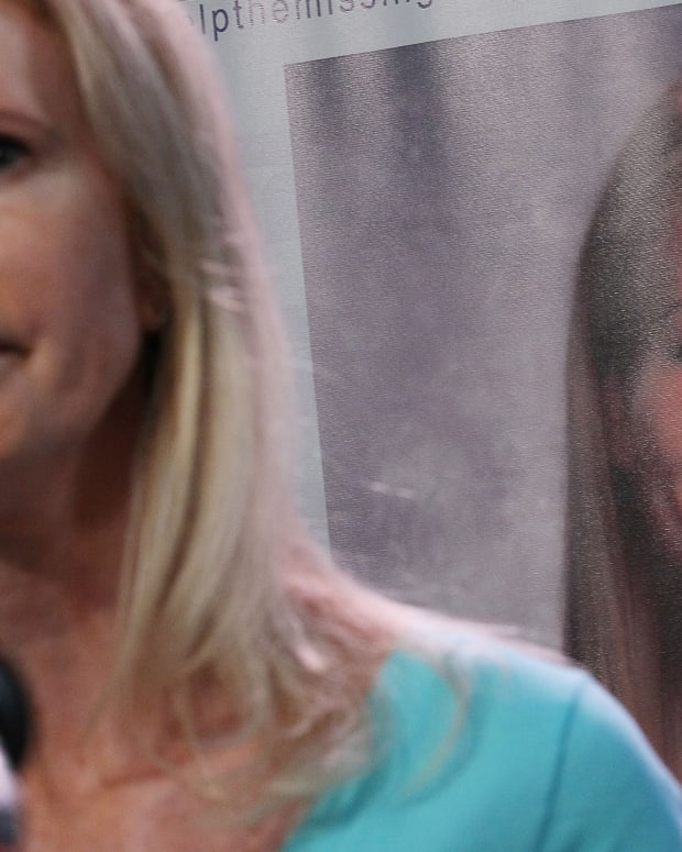 Beth Holloway participates in the launch of the Natalee Holloway Resource Center on June 8, 2010, in Washington, D.C.