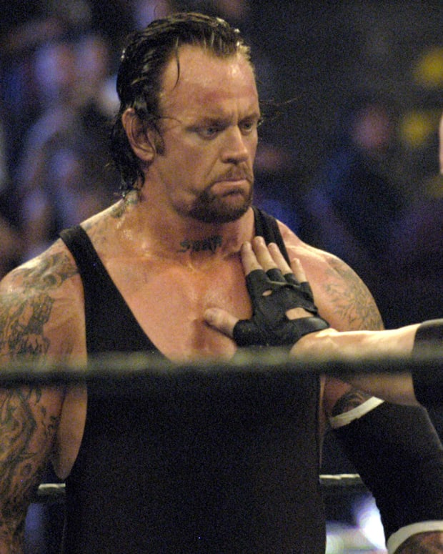 The Undertaker vs Kane during WrestleMania XX at Madison Square Garden in New York City